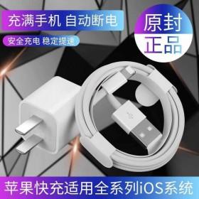 苹果充电器+数据线