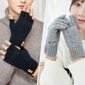两双装 男女毛线手套