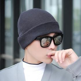 单帽秋冬季毛线帽