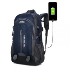 户外登山包40L大容量轻便旅游旅行背包男士女双肩包