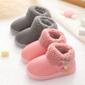 儿童雪地靴冬季新款宝宝加厚棉鞋