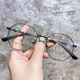 近视眼镜女配有度数网红款