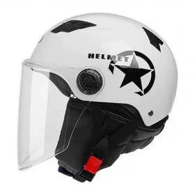 电动车头盔电瓶车摩托车安全帽男女冬季保暖围脖可拆