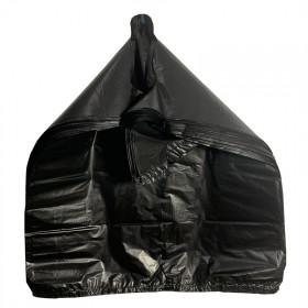 手提式加厚垃圾袋黑色背心家用办公室商用大号实惠装