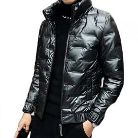 男款轻薄羽绒服男士冬季外套装短款潮流休闲白鸭绒
