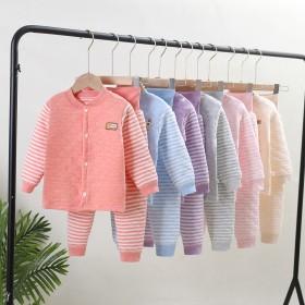 冬季纯棉宝宝保暖热销加厚婴儿彩棉儿童长袖高腰护肚