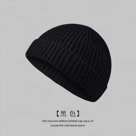 毛线帽子男女秋冬通用