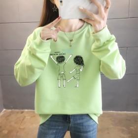 新款外套2021秋季韩版薄款卫衣女学生休闲上衣