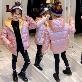 儿童羽绒棉服冬季新款男童女童