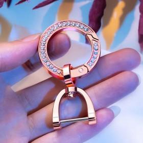 圆环钥匙扣马镫扣挂件