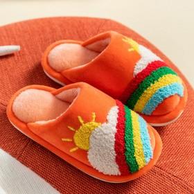 儿童棉拖鞋男童女童卡通可爱家用室内防滑宝宝小孩拖鞋