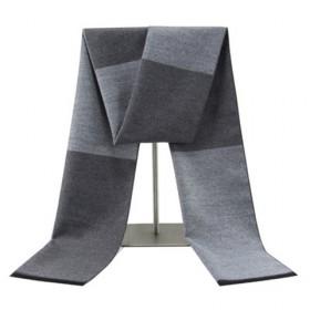 冬季保暖男士围巾时尚百搭韩版格子围脖潮流商务