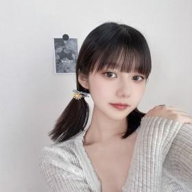 彩色雏菊发绳泫雅花朵发圈韩国少女可爱头绳扎马尾橡皮