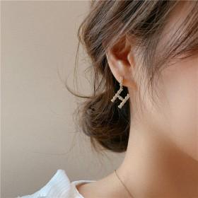 淘花花好品质耳钉耳环耳钉耳饰银针耳环纯银不过敏