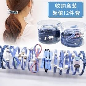 韩国小清新森女系发绳发饰扎头发马尾橡皮筋成人头绳