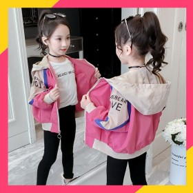 女童夹克外套2021秋季新款
