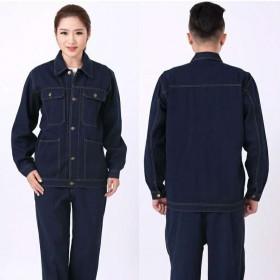 男女劳保工作服工装制服套装工地电焊防烫耐脏耐磨加厚