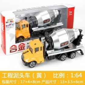 儿童玩具车 仿真小汽车合金车挖掘机 玩具