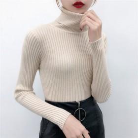 高领毛衣打底女内搭加厚针织衫长袖纯色套头上衣