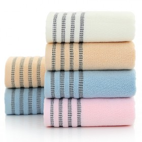 洗脸擦脸巾吸水不掉毛棉毛巾家用加大加厚洗澡巾柔软