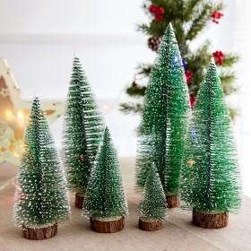 15cm桌面圣诞树家用发光摆件装饰