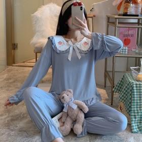 长袖睡衣女春秋季可爱公主睡衣