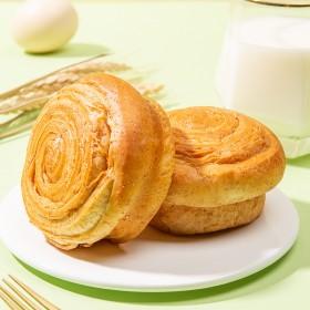 爱乡亲0添蔗糖全麦手撕面包450g整箱学生早餐心代